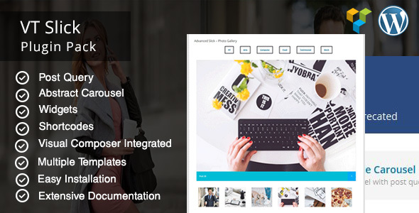 VT Slick Carousel WordPress Plugin