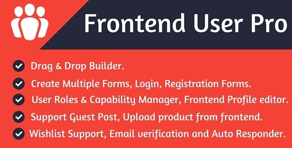 Frontend User Pro v1.0