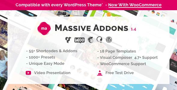 Massive Addons for Visual Composer v1.4