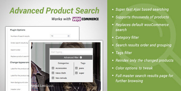 Advance Products Search for wooCommerce v1.4.2