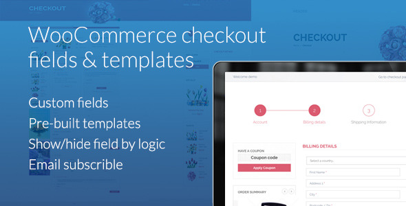 WooCommerce Checkout Fields & Templates