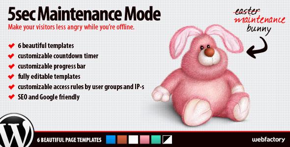 5sec Maintenance Mode v1.1