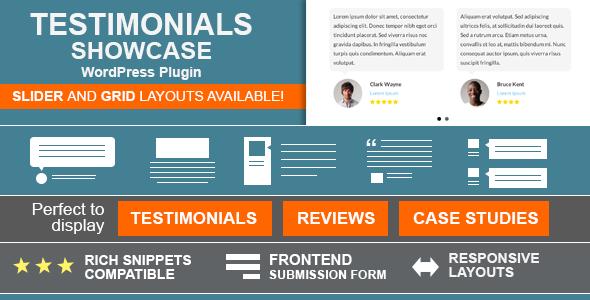 Testimonials Showcase v1.3.7 - WordPress Plugin