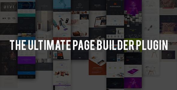 Divi Builder v1.3.5 - Drag & Drop Page Builder Wordpress Plugin