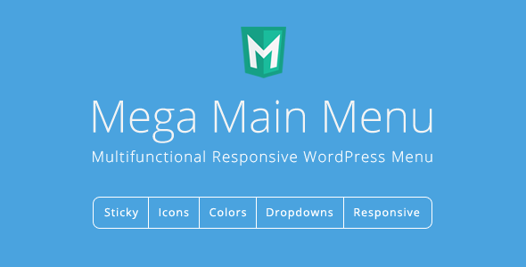 Mega Main Menu v2.1.2 - WordPress Menu Plugin