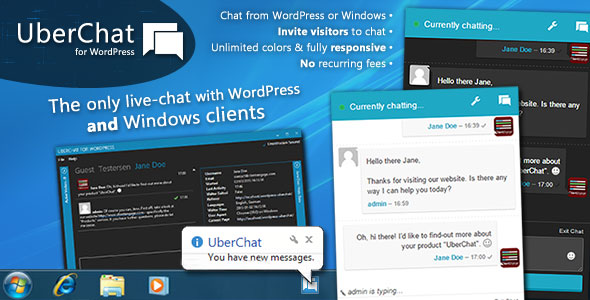Uber Chat v2.2.1 - Ultimate Live Chat with Windows Client