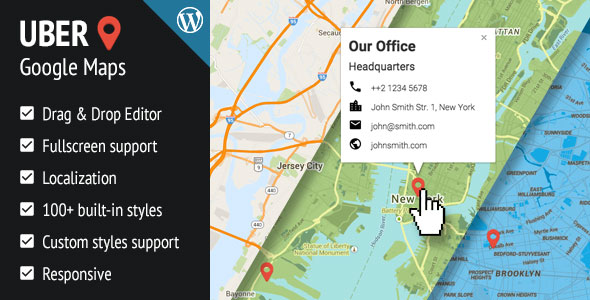 UBER Google Maps for WordPress v1.0.12