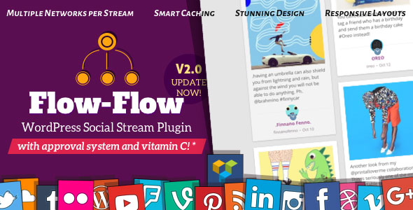 Flow-Flow v2.9.2 - WordPress Social Stream Plugin