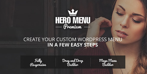 Hero Menu v1.8.8 - Responsive WordPress Mega Menu Plugin