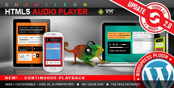 HTML5 Audio Player WordPress Plugin v2.9.1