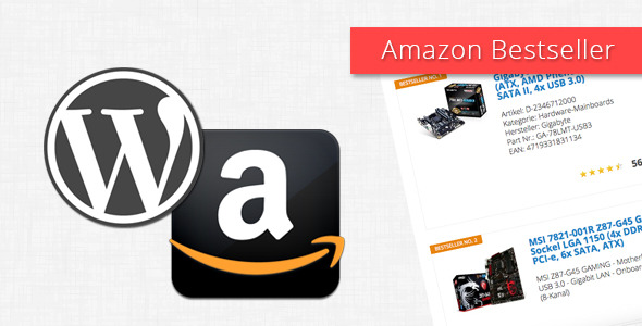 Amazon Bestseller for WordPress v3.1.1