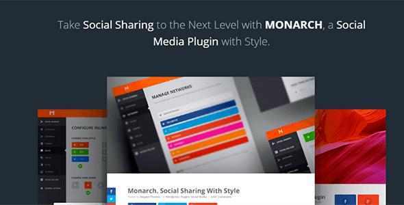 Monarch v1.3.1 - A Better Social Sharing WP Plugin