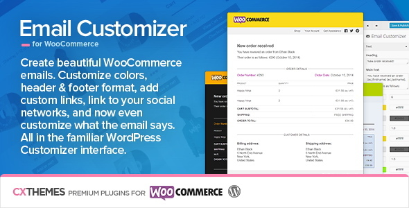 Email Customizer for WooCommerce v2.40