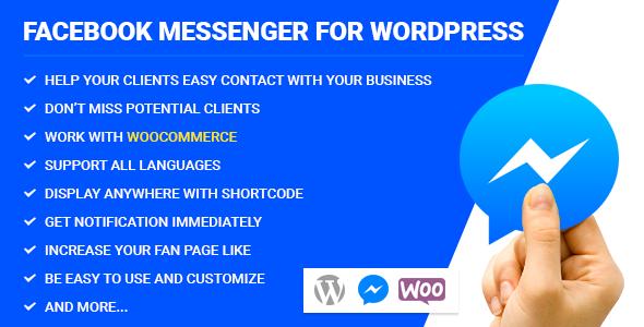 Facebook Messenger for WordPress v2.1