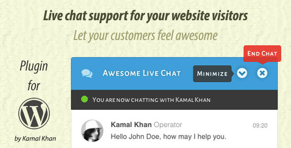 Awesome Live Chat 1.3.7