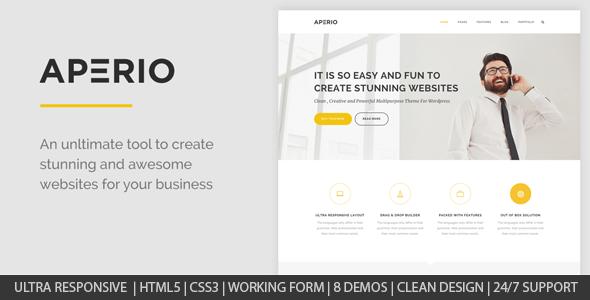 Aperio v1.0 – Responsive Multipurpose HTML5 Template
