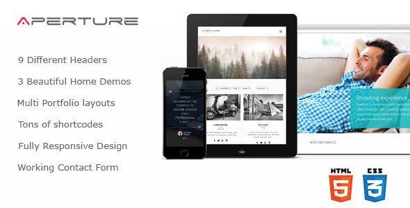 Aperture v1.0 – Responsive Creative Business HTML Template