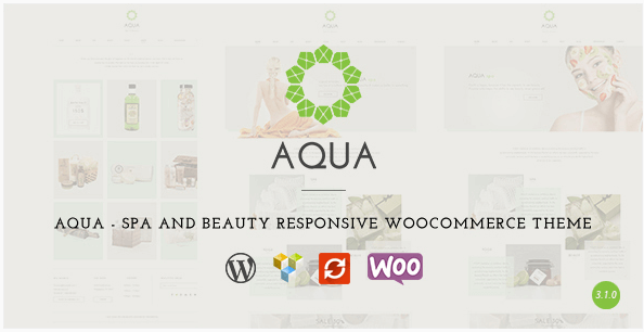 Aqua v3.1.0 – Spa & Beauty WooCommerce WordPress Theme