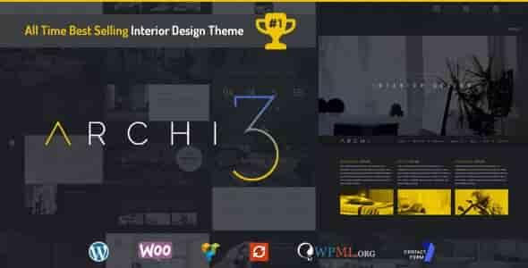 Archi v3.0.1 – Responsive Interior Design WordPress Theme
