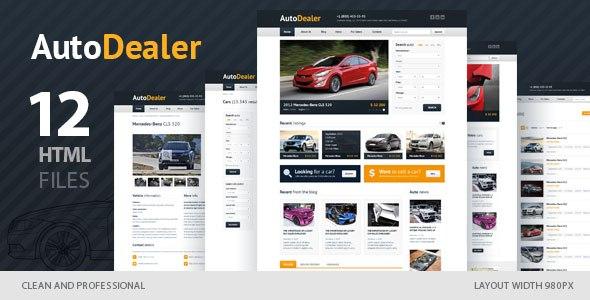 Download – Auto Dealer v1.0 – Car Dealer HTML Template