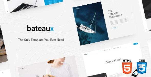 Bateaux v1.0 – Responsive Creative Multi-Purpose HTML Theme