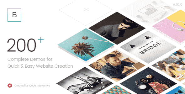 Bridge v10.1.1 – Creative Multi-Purpose WordPress Theme