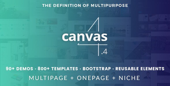 Canvas V4.4 – The Multi-Purpose HTML5 & CSS3 Site Template