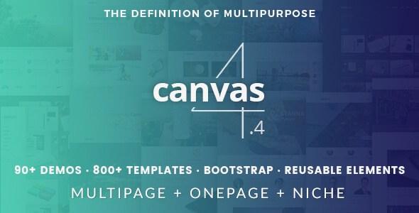 Canvas V4.4 – The Multi-Purpose HTML5 & CSS3 Site Template