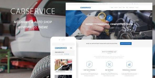 Car Service v1.6.0 – Responsive Mechanic Auto Shop Template