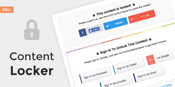 Content Locker Pro v1.0.14 – Premium WordPress Plugin