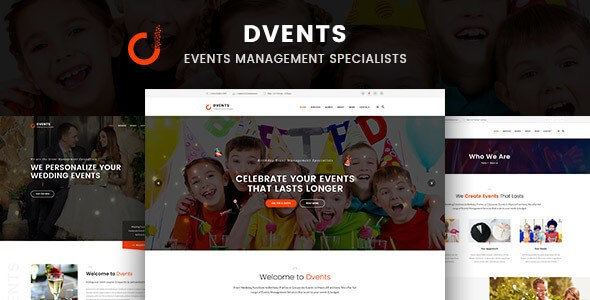 DVENTS v1.0 – Responsive Events HTML5 & CSS3 Template