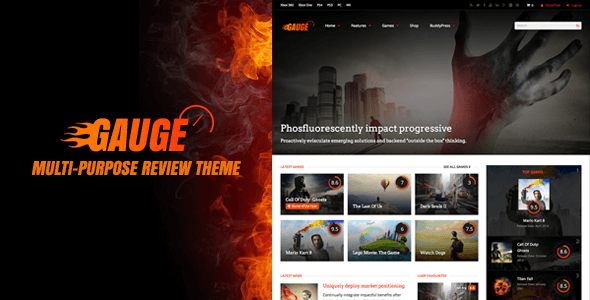 Download – Gauge v3.1 Multi-Purpose Review Theme