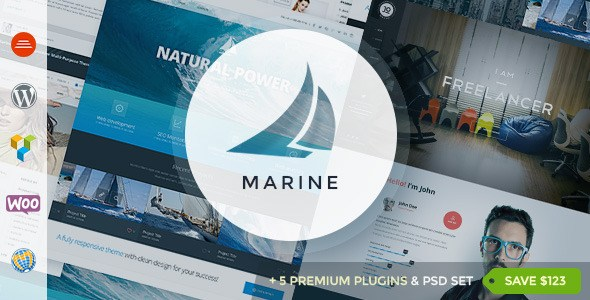 Download – Marine v2.5 Responsive WordPress Theme Multi-Purpose