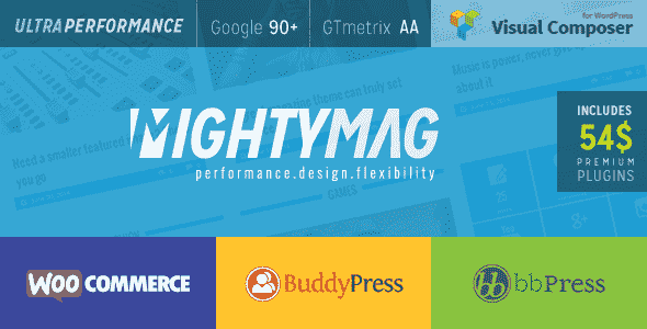 Download – MightyMag Magazine, Shop, Community WP Theme