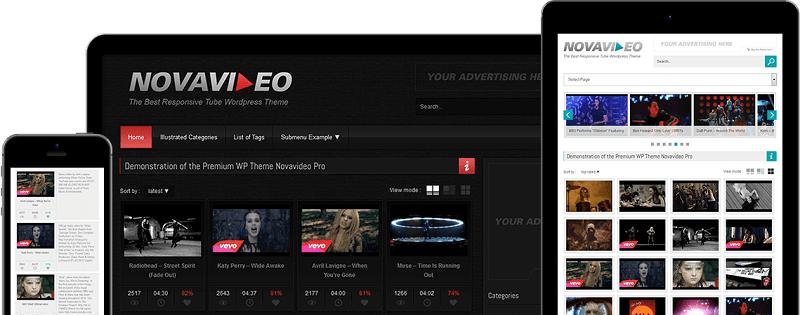 Download – Novavideo Pro v2.2.2 – WordPress Video Theme