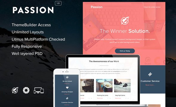 Download Passion – Creativemarket Email + Builder Access