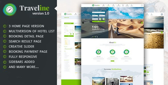 Download – Traveline – Travel Hotel Booking WordPress Theme