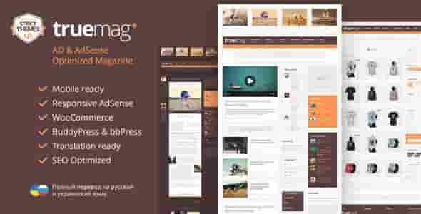 Download – Truemag v1.1.9 AD & AdSense Optimized Magazine