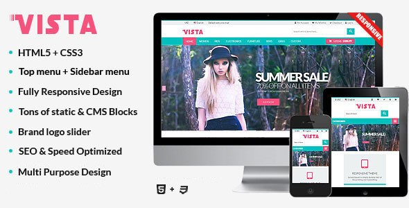 Download – Vista – Responsive Multipurpose HTML5 Template