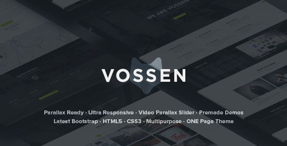 Download – Vossen – Responsive Parallax Multipurpose Template