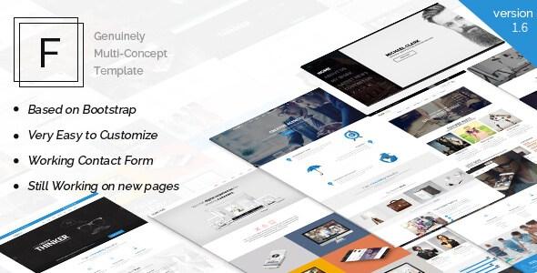 Fajar v1.6 – The Multi-Purpose Responsive HTML5 Template