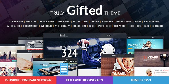 Gifted v1.0.0 – Multi-Purpose HTML5 Website Template