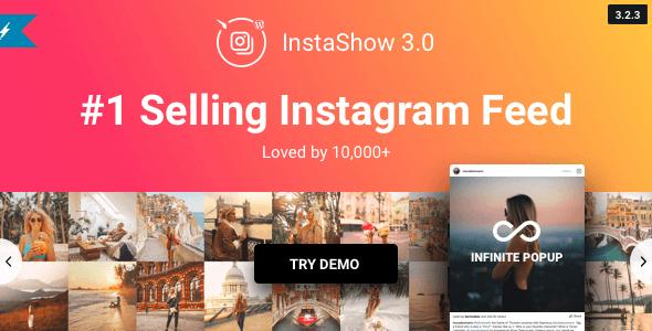 InstaShow v3.2.3 – Instagram Feed Plugin for WordPress