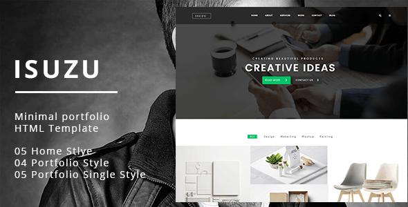 Isuzu v1.0 – Responsive Creative & Portfolio HTML5 Template