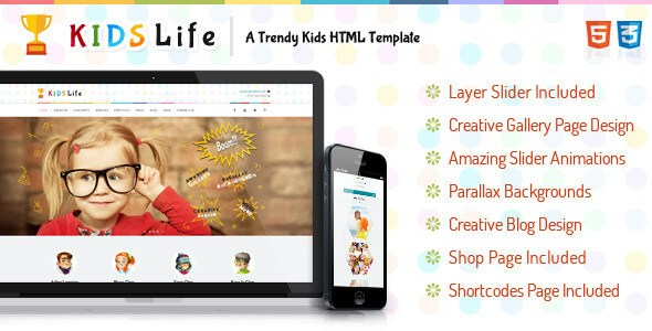 Download – Kids Life – A Trendy Kids HTML5 Template