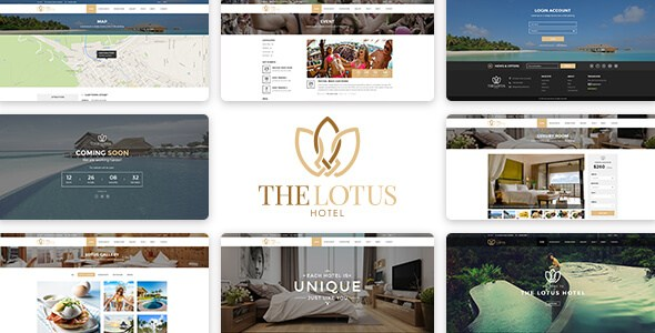 Lotus v1.0 – Responsive Hotel Booking HTML Template