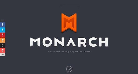 Monarch v1.3.26 – A Better WordPress Social Sharing Plugin