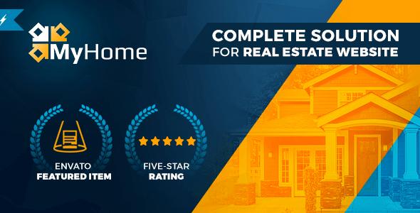 MyHome v2.1.17 – Responsive Real Estate WordPress Theme