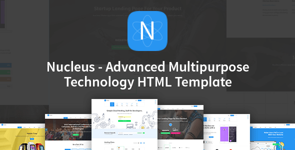 Nucleus v1.1 – Multipurpose Technology HTML5 Template
