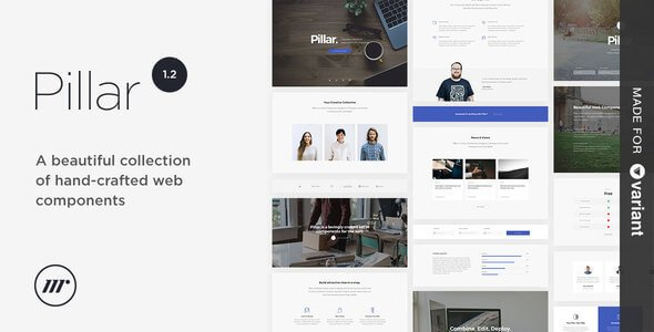 Download – Pillar v1.0.0 Multipurpose HTML5 with Page Builder
